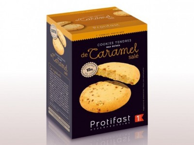 Sušenka slaný karamel